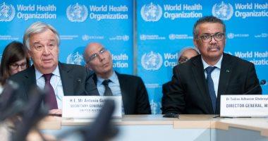 """بعد يوم من هجوم ترامب.. الأمين العام للأمم المتحدة يدعو إلى دعم """"الصحة العالمية"""""""