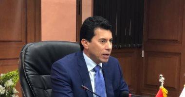 وزير الرياضة بعد مرور عامين علي تعيينه : نتمني أن نكون دائما على قدر المسئولية