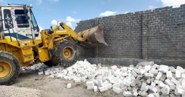 صور.. التنمية المحلية: إزالة أكثر من 5 آلاف حالة تعدى على أراضى الدولة