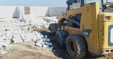 محافظ المنيا: إزالة 3017 حالة بناء و812 زراعة على أملاك الدولة منذ مارس