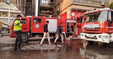 تحقيقات النيابة: ماس كهربائي وراء حريق محطة وقود فى مدينة نصر