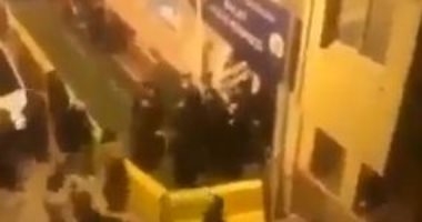 إطلاق نار ومشاجرات أمام محلات البقالة في تركيا قبل فرض حظر التجول.. فيديو
