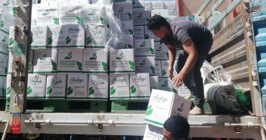 تضامن قنا توزع كراتين مواد غذائية للمتضررين من اجراءات كورونا