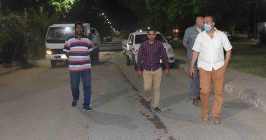 سكرتير محافظة الأقصر يقود جولة ميدانية لمتابعة النظافة والإشغالات بحظر التجوال