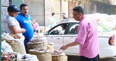 قائمة بأسعار بلح رمضان في سوق العبور للجملة اليوم الخميس