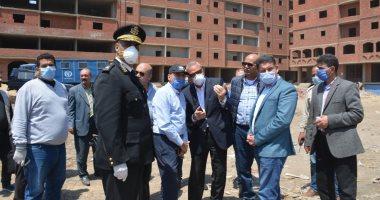 محافظ القليوبية يشن حملة إزالة مكبرة على المباني المخالفة ببنها وتنفيذ 27 قرار