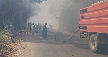 السيطرة على حريق بقرية الشغب فى الأقصر دون خسائر بشرية