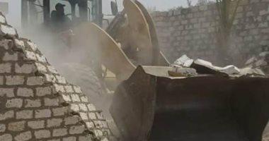 إزالة 58 حالة تعد على الاراضى الزراعية بسوهاج