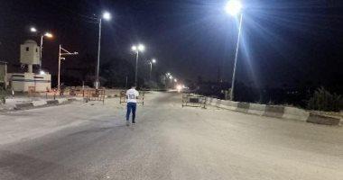 ضبط 5871 شخصا اخترقوا حظر التجول و2954 سيارة مخالفة فى 24 ساعة