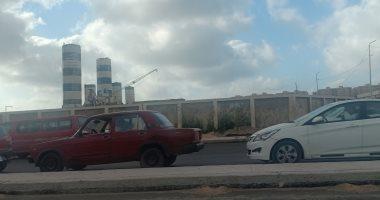 زحام بمدخل الإسكندرية وانتشار لسيارات المرور.. صور
