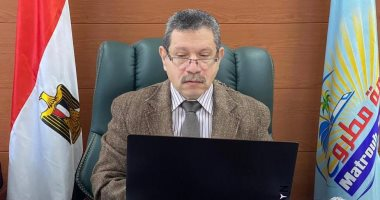 رئيس جامعة مطروح يتفقد مباني منشآت الجامعة بالكيلو 9 -
