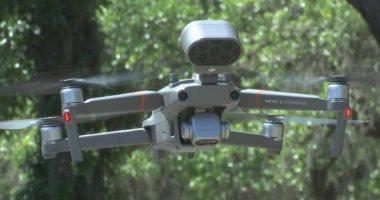 ولاية جورجيا تستخدم طائرات بدون طيار لتطبيق قيود التباعد الاجتماعى.. فيديو