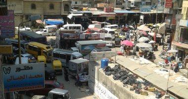 امسك مخالفة.. قارئ يشكو التكدس والازدحام بمنطقة العصافرة قبلى فى الإسكندرية