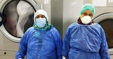 الجيش الأبيض.. سوسن وناهد بمستشفى العزل فى العجمى على خط المواجهة مع كورونا