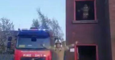 مصرع 5 وتفحم محتويات شقة سكنية إثر حريق فى الدقى بسبب ماس كهربى