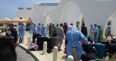 محافظ البحر الأحمر: المصريين الذين وصلوا اليوم لمرسى علم من كندا بينهم 12 طفلا