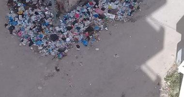 سيبها علينا .. شكوى من انتشار القمامة بشاطئ النخيل بـ 6 اكتوبر بالاسكندرية
