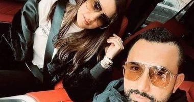 سر حذف هاني سعد تعليقه I love You على صورة درة وتغيير حسابه لـ Private.. صور