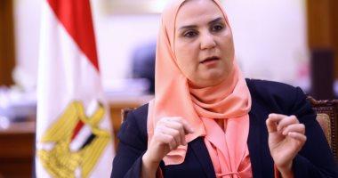 وزيرة التضامن: تقديم الدعم لأشقائنا فى فلسطين بمراكز الإغاثة فى شمال سيناء