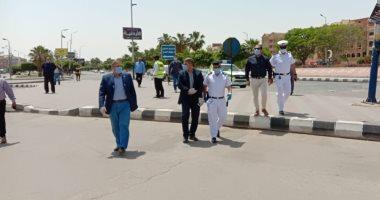 رئيس جهاز العاشر من رمضان خلو الحدائق والمتنزهات من المواطنين فى شم النسيم اليوم السابع