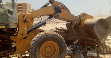 إزالة 6 حالات تعد على الأراضى الزراعية وأملاك الدولة بمركز سوهاج