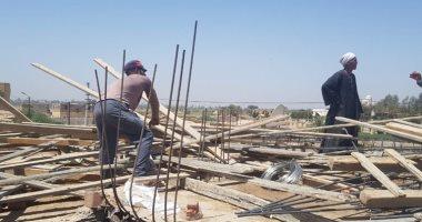 حملة إزالة فى المهد بمركز دار السلام بسوهاج على مساحة 72 متر