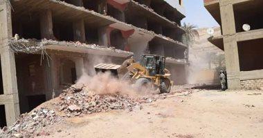الداخلية تضبط 198 شخص خالفوا قرار وقف بناء المساكن -