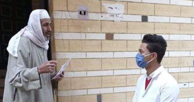 حملة توعية  وتوزيع مطهرات.. إجراءت قرية بنى سلامة للوقاية من كورونا