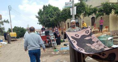 صور.. فض 15 سوق بمدن ومراكز محافظة الشرقية