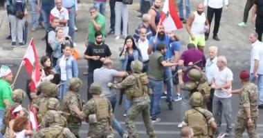 كر وفر بين الجيش اللبناني ومحتجين في طرابلس