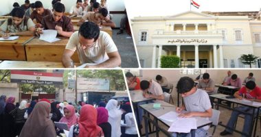 التعليم: تسليم جدول الثانوية العامة لرؤساء لجان السير لوضعه بمدخل اللجان