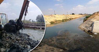 وزارة الرى تتابع أعمال تأهيل وتبطين الترع بمحافظة أسيوط