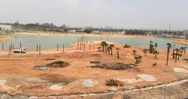 محافظة القاهرة: توريد 13 نافورة لتركيبها فى بحيرة عين الحياة بارتفاعات تصل 8 أمتار