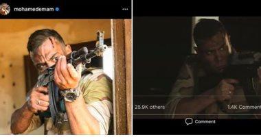 """بيتر ميمى يوضح حقيقة صورة محمد إمام فى مشهد من مسلسل""""الاختيار""""..اعرف قال إيه"""