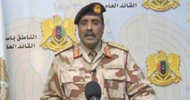 الجيش الليبى: نقلنا جميع الطائرات والأسلحة قبل انسحابنا من قاعدة الوطية