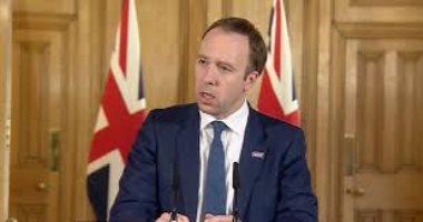 وزير الصحة البريطانى: أكثر من 100 إصابة بفيروس كورونا تتلقى العلاج أسبوعيا