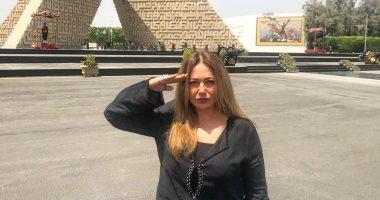 ليلى علوى:أهم انجازات الثورة استعادة مصر لمكانتها الحقيقية تحت قيادة الرئيس