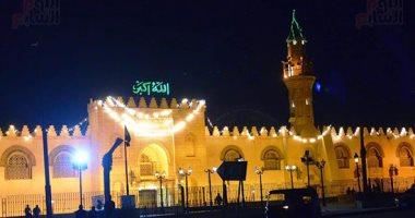 الأوقاف: الشيخ طه النعمانى يؤم صلاة التراويح من مسجد عمرو بن العاص اليوم