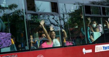 عودة مواطنى فنزويلا العالقين بعد قضاء 14 يوما فى الحجر الصحى بالحدود الكولومبية