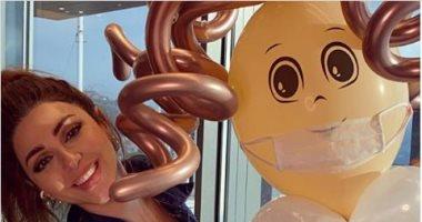 ميريام فارس تحتفل بعيد ميلادها بطريقة مختلفة بسبب كورونا