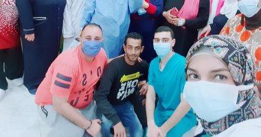 ارتفاع عدد المتعافين من كورونا لـ87 بمستشفى العجمى وتحويل 252 للنقاهة
