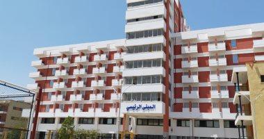 800 مصرى عائدين من الخارج يغادرون حجر المدينة الجامعية بجامعة عين شمس