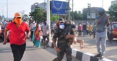 صور.. وفاة 9 وإصابة المئات فى تسرب غاز كيماوى بمصنع جنوب الهند