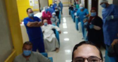 مستشفى إسنا للعزل الصحى: تعافى 25 مصابا بكورونا وسط فرحة عارمة