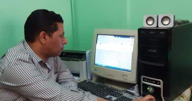 تعليم القاهرة تتسلم مشروعات الأبحاث إلكترونيا.. صور