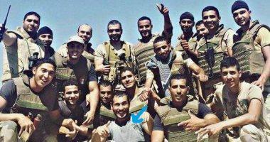 """حكاية من بطل بكتيبة """"المنسى"""".. """"خالد حراز"""" يروى الجانب الإنسانى للشهيد"""