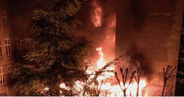 مرصد الإسلاموفوبيا يدين حرق المركز الإسلامى بالعاصمة الدنماركية كوبنهاجن