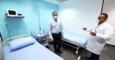 وزير السياحة والآثار ومحافظ جنوب سيناء يتفقدان مطار ومستشفى شرم الشيخ