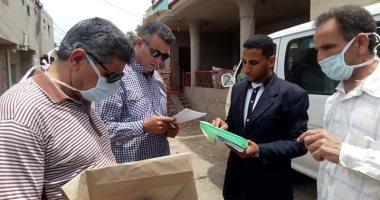 تسليم 9 أفراد للشرطة انتحلوا صفة عاملين بالصحة للنصب على أهالى أولاد صقر