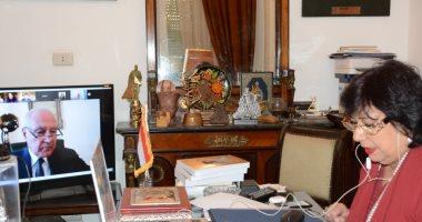 مصر تترأس أول اجتماع استثنائى عن بعد مع الوزراء المسئولين عن الثقافة بالوطن العربى